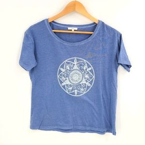 Tatula Boxy Oversized Dream Catcher Print Tee